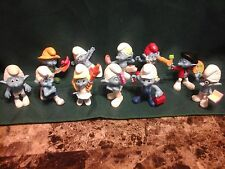 Lot of 11 Smurfs McDonald's Figurines