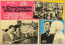 FOTOBUSTA 1, IL COMPAGNO DON CAMILLO, FERNANDEL, GINO CERVI, GUARESCHI, COMMEDIA
