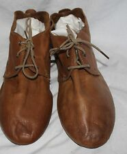 VINTAGE SHOE COMPANY WOMEN'S BROWN LACE UP OXFORD SOFT LEATHER SHOES SZ 11M!