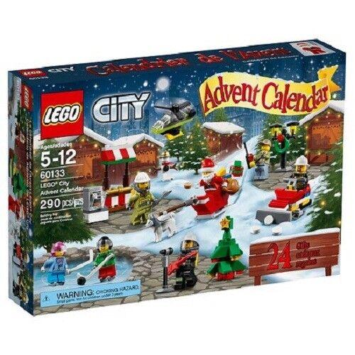 LEGO CITY ADVENT CALENDAR 2016  SAME DAY SHIP 7 minifigures 290 pcs