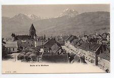 SUISSE SWITZERLAND canton FRIBOURG BULLE belle vue sur le moléson