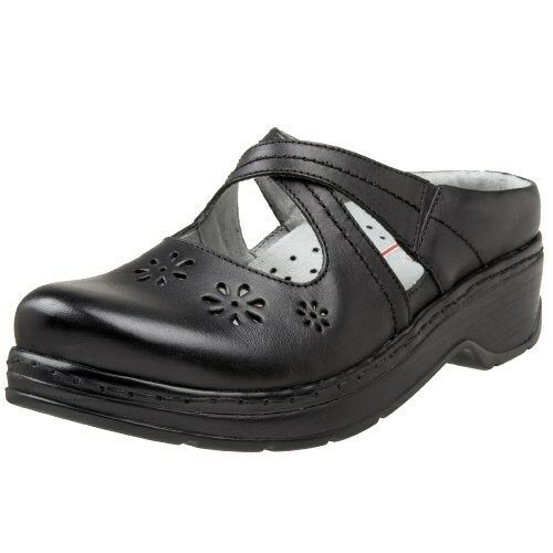 KLOGS CAMILA LEATHER CLOGS DISPLAY MODEL MODEL DISPLAY schwarz SMOOTH 8.5 W c88c2d