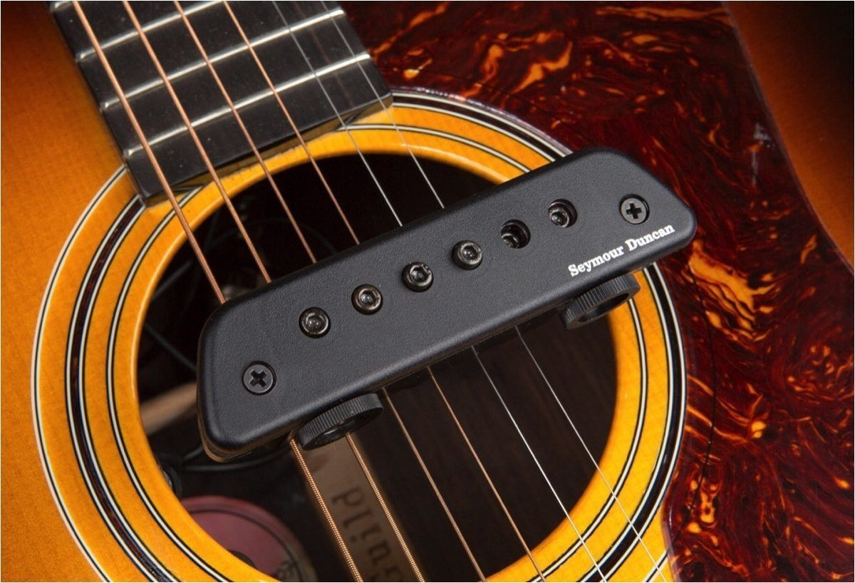 Active Magnetic Acoustic Soundhole Pickup Seymour Duncan Active Mag