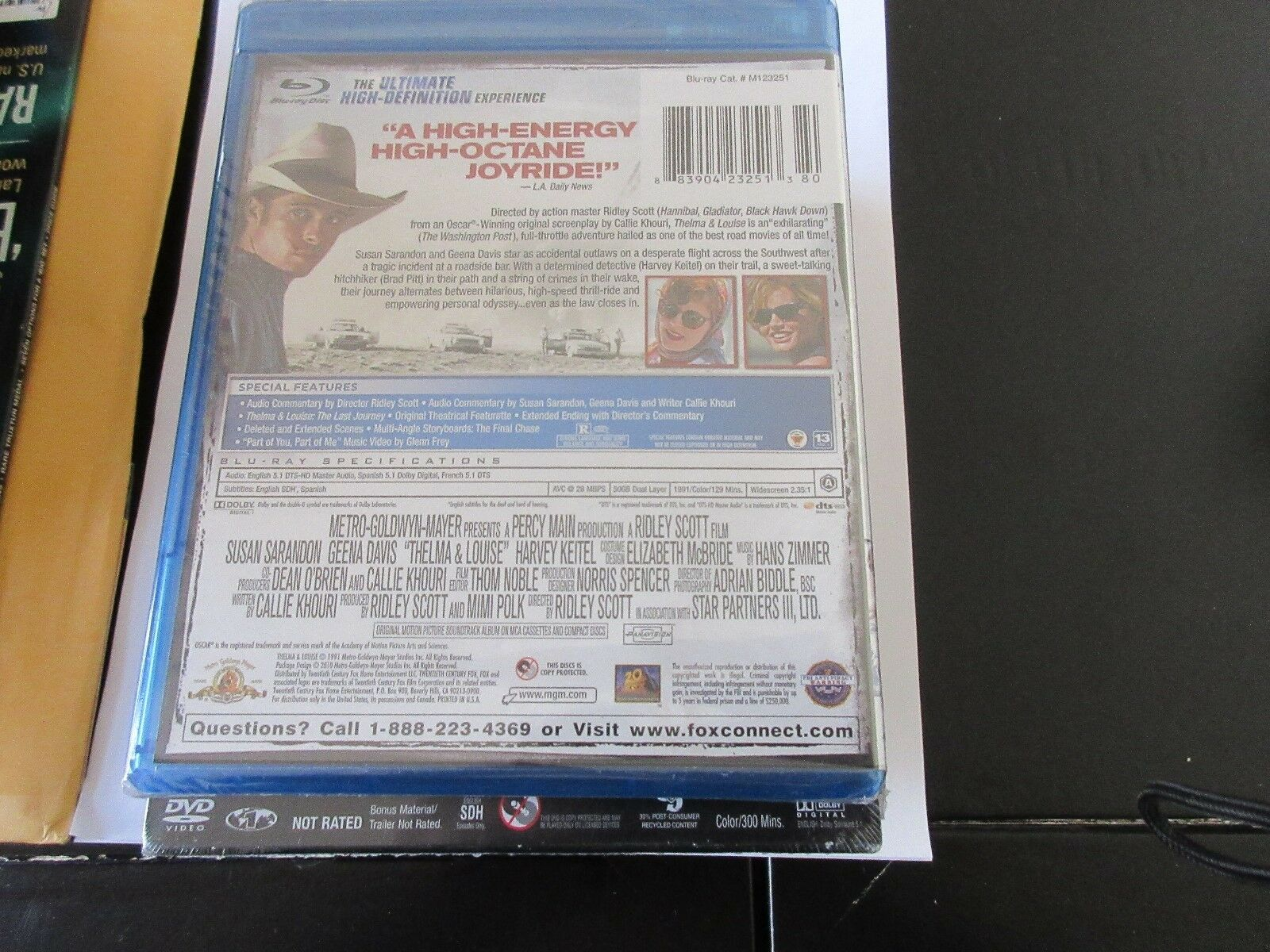 Thelma & Louise , Blue-Ray Disc , DVD