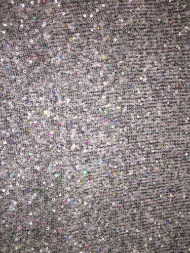 Cropped Taille Gris Petit Bnwt Sequin Zara Pull nWOxq1x7w