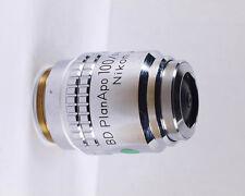 Nikon Bd Planapo 100x 2100 Apo Metallurgical Microscope Objective