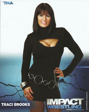 Official TNA Impact Wrestling - Traci Brooks - 8x10 - P81
