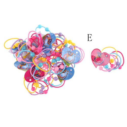 50Pcs Baby Kids Girl Elastic Hair Bands Ponytail Holder Head Rope Ties JDHC
