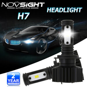 NOVSIGHT-2X-H7-LED-24W-6000K-Auto-Ampoule-Voiture-Feux-Phare-Lampe-Cool-Blanc