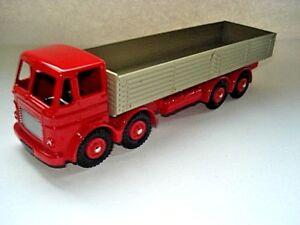 Atlas-Dinky-Supertoys-No-934-Red-Leyland-Octopus-8-wheeled-Wagon-Mint