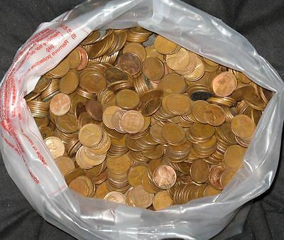 Lot of 500 Pennies Machine Sorted For Copper In 1984 (Fulls Bags Located) RARE?