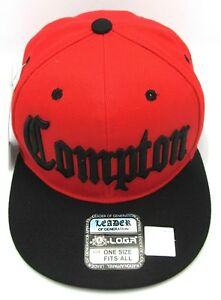 5c86b9db4c6751 Image is loading COMPTON-Snapback-Hat-South-Central-Los-Angeles-Cali-