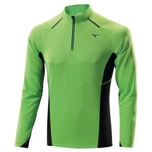 T-shirt-manica-lunga-Mizuno-WarmaLite-1-2-Zip-L-S-Tee-Uomo-J2GA4516-34