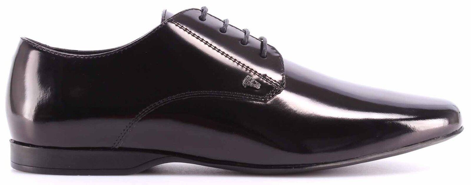 Los últimos zapatos de descuento para hombres y mujeres Scarpe Classiche Uomo VERSACE COLLECTION Pelle Nera Eleganti Stringhe Nuove