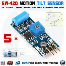 5pcs Sw 420 Motion Tilt Sensor Vibration Switch Alarm Module For Arduino 33 5v