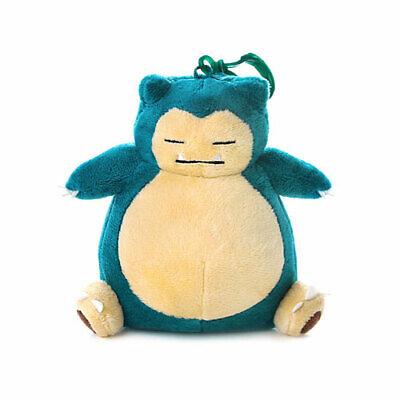 "Pokemon Snorlax Genuine Plush Rag Bag Charm Doll with Hook  5.1/"" Cute Design"