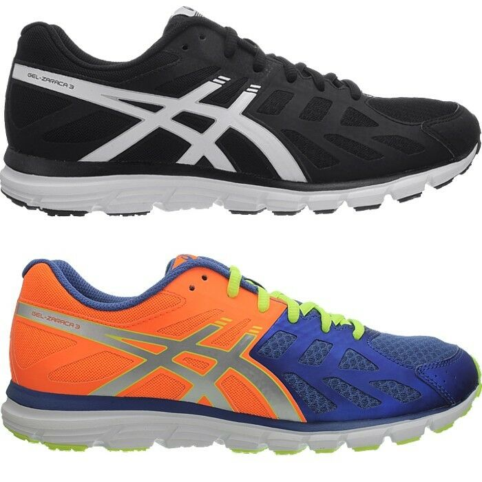 ASICS Gel zaraca 3 M Noir Od Orange Hommes Chaussures De Course Jogging sport fitness
