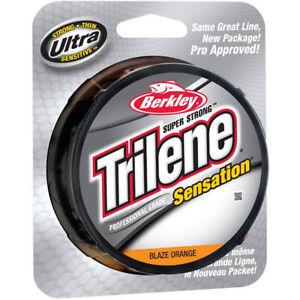 Berkley-Trilene-Sensation-Fishing-Line-330-yds-Blaze-Orange