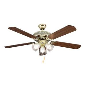 Hampton bay polished brass landmark ceiling fan replacement parts image is loading hampton bay polished brass landmark ceiling fan replacement aloadofball Gallery