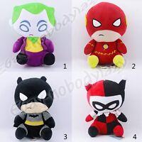 Super Hero The Flash The Joker Harley Quinn Batman 19cm Suction Soft Plush Doll