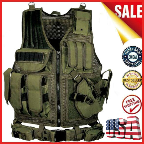Multi-functional Breathable Vest Outdoor CS Field Protection Vest Training V2X9