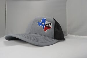 Richardson-OilField-DrillingRig-Texas-Snapback-Hat-Trucker-Cap-for-Men-and-Women