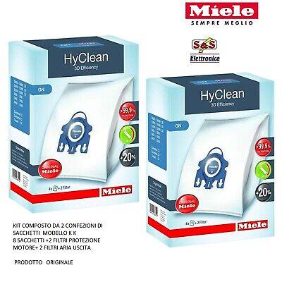 Miele GN Hyclean Pack di 4 Sacchetti di Aspirapolvere
