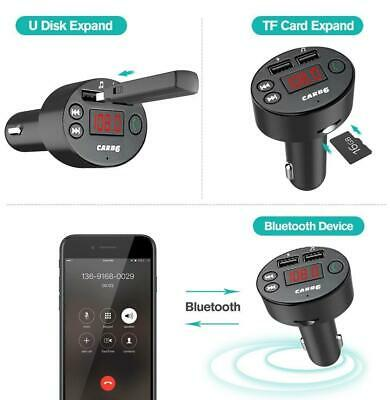 Betrouwbaar New Bluetooth Car Kit Wireless Fm Transmitter Dual Usb Charger Audio Mp3 Player Een Unieke Nationale Stijl Hebben