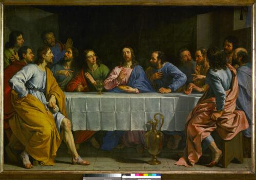 The Last Supper Philippe de Champagne Giclee Canvas Print