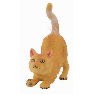New in Package FREE SHIPPINGCollectA 88324 British Shorthair Cat Stretching