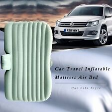 Inflatable Travel Camping Car Seat, Sleep Rest Mattress Air Bed W/ Pillow - Grey