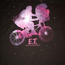 E.T. ET The Extra-Terrestrial Flying Bike Stars T Shirt Size L Ripple Junction