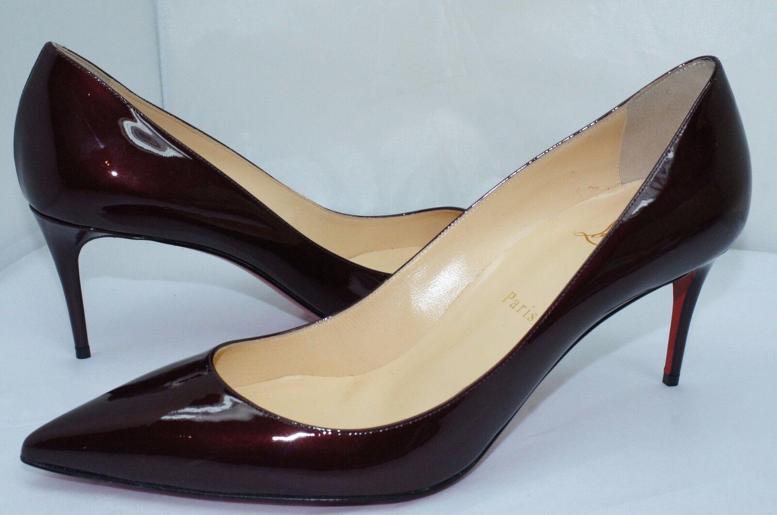 New Christian Louboutin Decollete 544 Pumps Womens Shoes Size 40.5 Heels