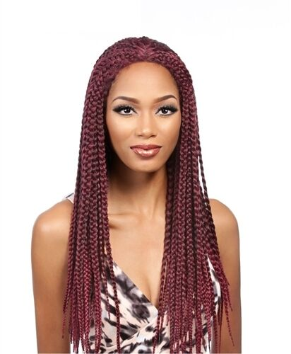 It's a Wig Synthetic Lace Front Wig LACE BOX BRAID MEDIUM