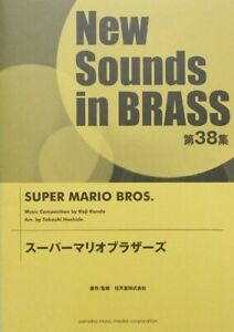Details about New Sounds in Brass NSB vol 38 Super Mario Brothers JAPANESE  SHEET MUSIC BOOK