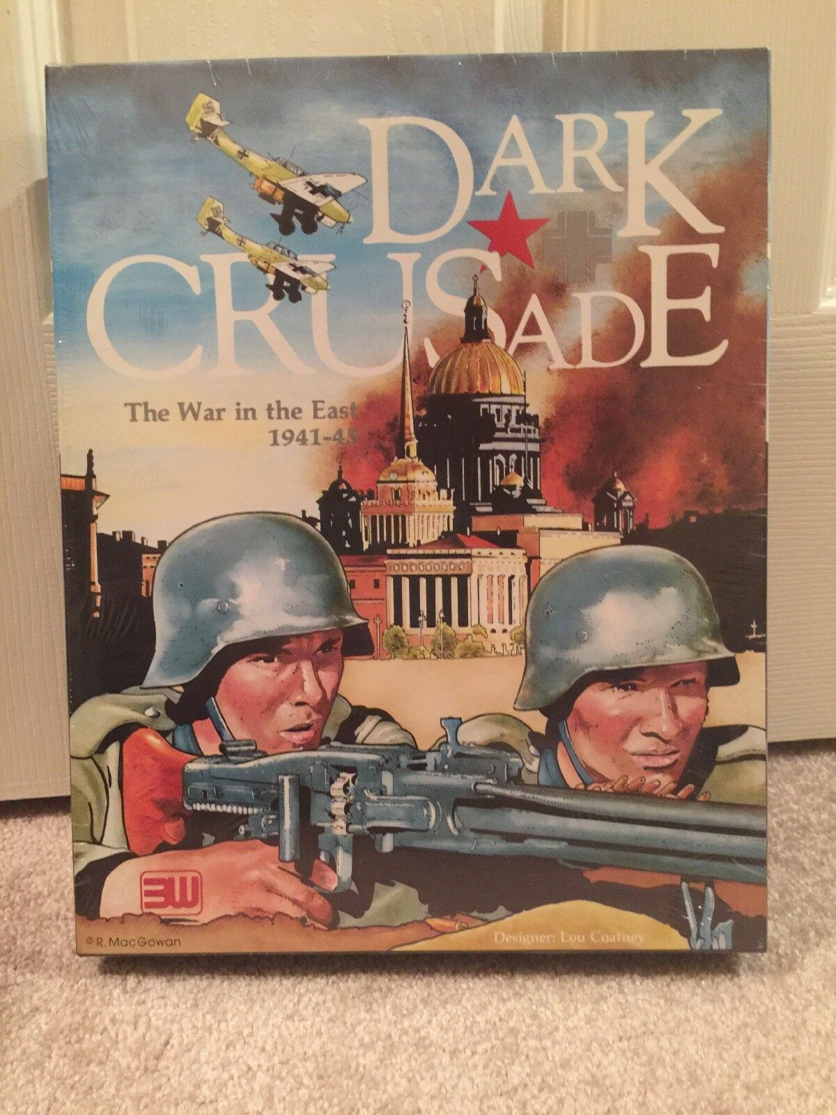 Dark Crusade The War in the East 1941-45 3W Unpunched