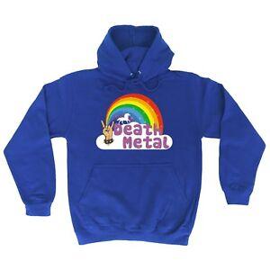 funny-hoodies-Death-Metal-Unicorn-Rainbow-HOODIE-punk-rock-heavy-hoody-birthday