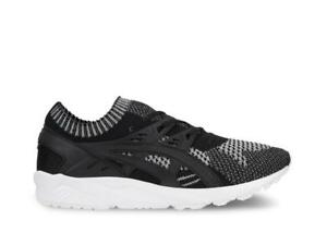 the latest 40cf1 6e5b1 Details about Mens Asics Gel Kayano Trainer Knit 3M Silver Black White  H7S3N-9390