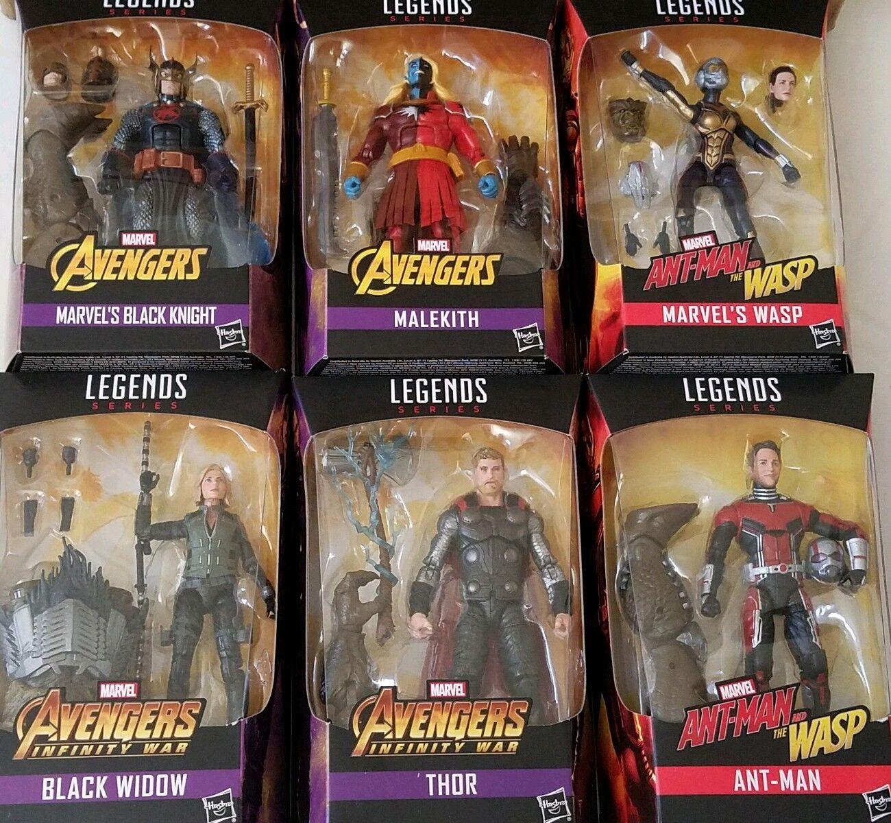 Marvel avengers keulen legenden obsidian baf satz von 6 mb geliefert, in der fabrik - fall