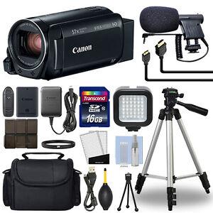 38133e62a6a Canon VIXIA HF R800 Full HD Camcorder HFR800 Black 57x Advance Zoom+ ...