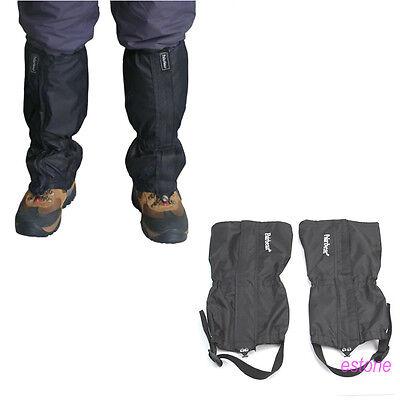 2pcs Waterproof Outdoor Hiking Walking Climbing Hunting Snow Legging Gaiters