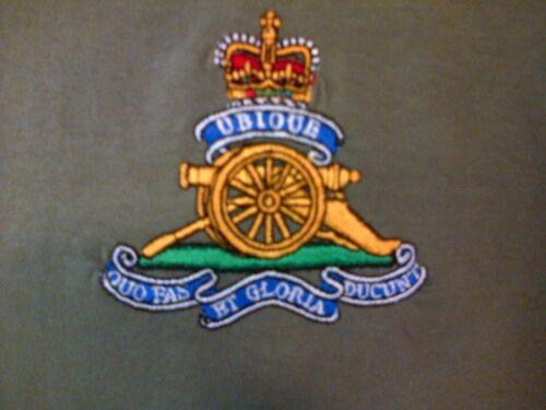 BRITISH ARMY RA ROYAL ARTILLERY POLO SHIRT