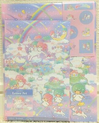 Sanrio Character Little Twin Stars Lala Writing Letter /& Envelope SET MADE JAPAN