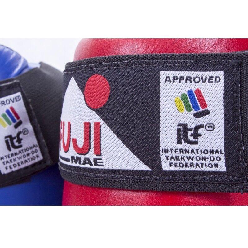 FUJI MAE ITF Taekwondo Taekwondo Taekwondo APPROUVÉ semi-contact Bottes Point entraînement 6dd4ba