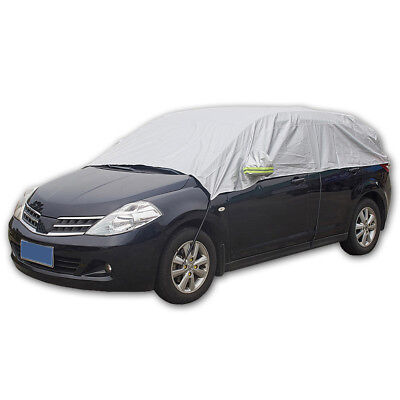Car Half Body Sun shade Waterproof Cover Sunscreen UV Snow Resistant Covers