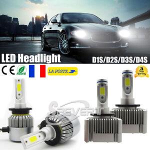 D1S-D3S-D2S-D4S-110W-26000LM-LED-Ampoule-Voiture-Feux-Lampe-Phare-Light-6000K