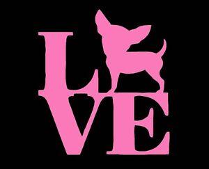 Love-My-Chihuahua-Dog-Vinyl-Decal-Sticker-Window-Glass-Car-Truck