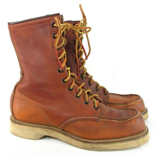VTG RED WING IRISH SETTER 1950'S Moc Toe Boots Men