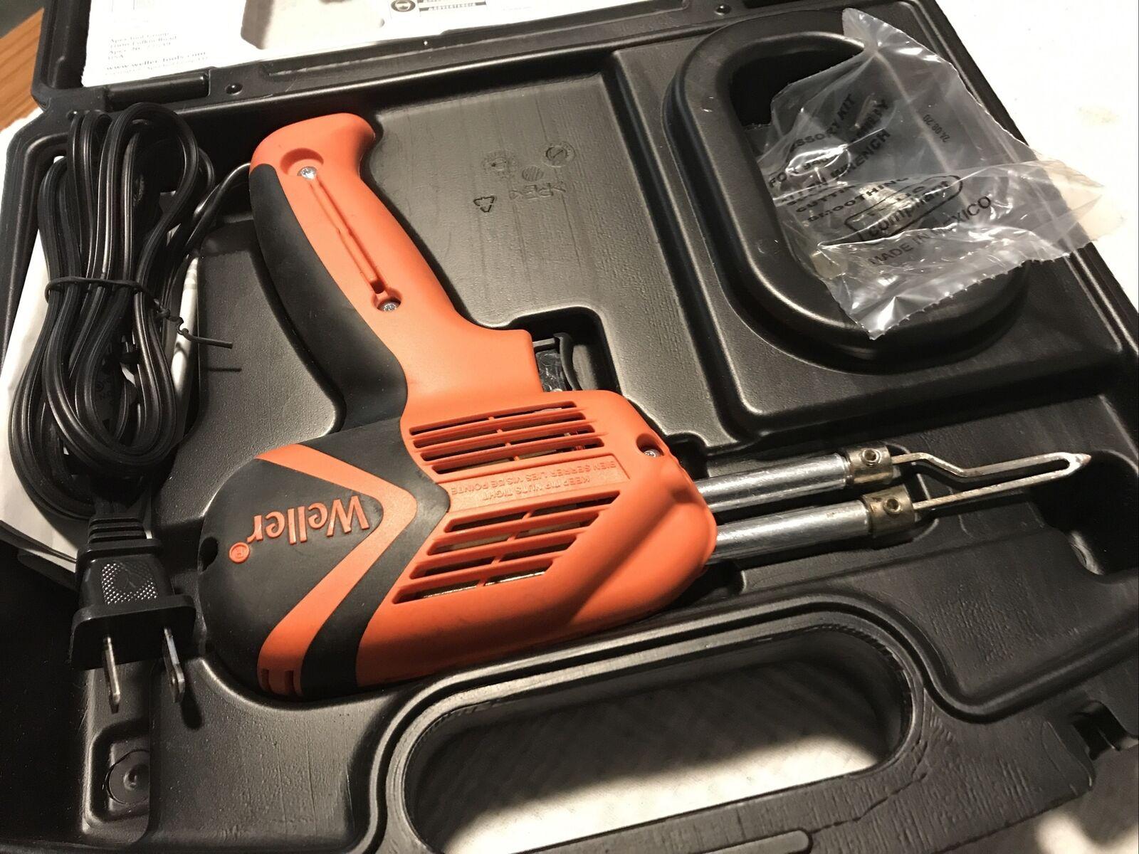Weller 8100UD T0050107299 100 Watt//240 Volt Expert Soldering Gun Red