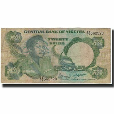 100% Quality [#591940] Banknote, Nigeria, 20 Naira, Undated 2005, Km:26e, Vg(8-10) Elegant And Graceful
